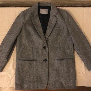 Everlane Grey Oversized Blazer